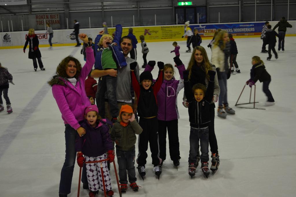 Kinderopvang Groningen Poppejans - schaatsen Kardinge