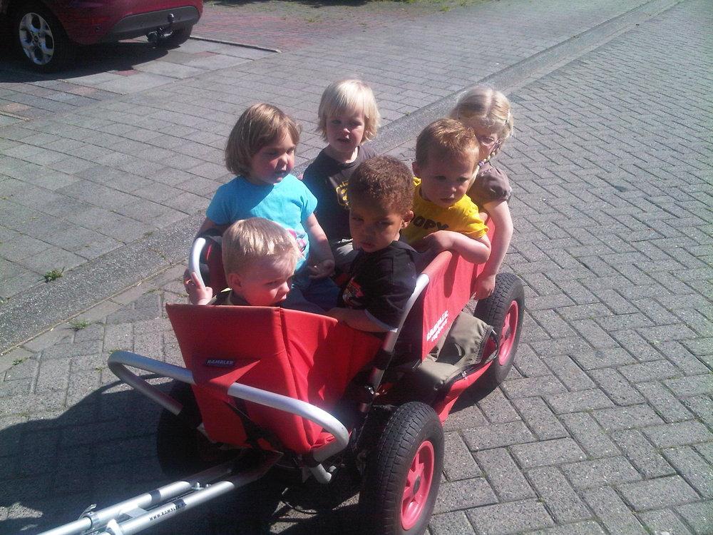 Kinderopvang Poppejans Groningen - bolderkar