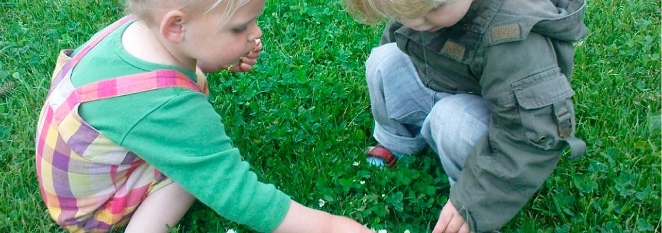 Kinderopvang Poppejans Groningen - buiten spelen kindercentrum