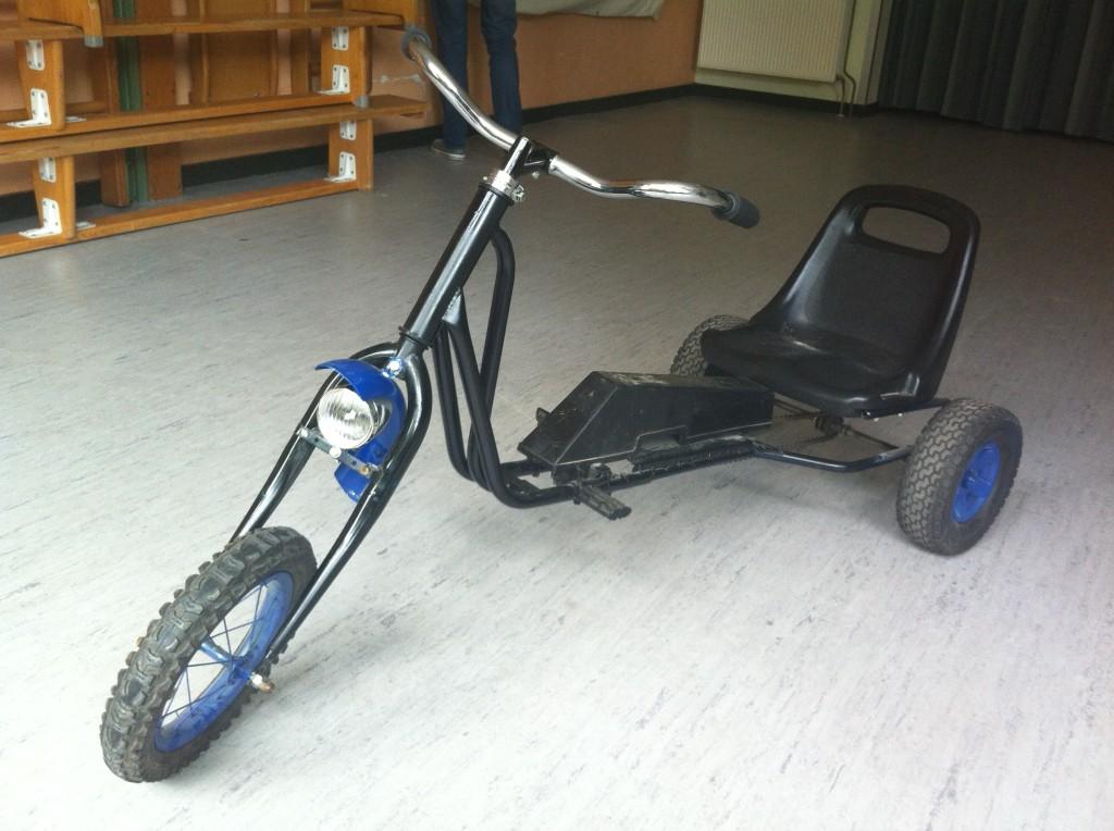 Kinderopvang Poppejans Groningen - collectie hilarische fietsen trike