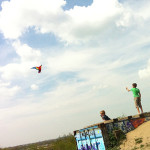 Kinderopvang Poppejans Groningen - vliegeren in Kardinge 1