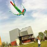 Kinderopvang Poppejans Groningen - vliegeren in Kardinge 2