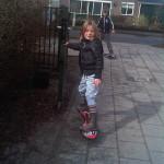 Kinderopvang Poppejans Groningen - waveboarden Driebond
