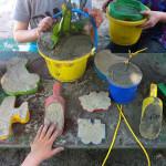 Kinderopvang Poppejans Groningen - zandbak speeltuin